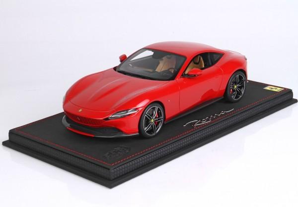 BBR Ferrari Roma Rosso Corsa 322 Limited Edition 20 1/18