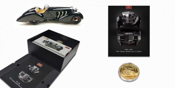 "CMC Mercedes SSK Trossi, 1932 ""Schwarzer Prinz"" Memorial Edition Limited Edition 600"