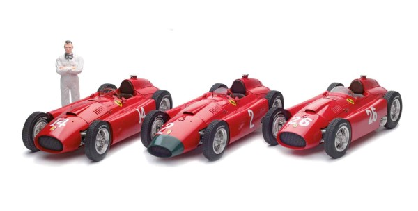 "CMC Lucky Set 2018 ""Collins"" CMC Ferrari D50 long nose+CMC Ferrari D50 long nose"