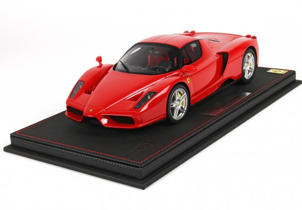 BBR Ferrari Enzo Ferrari Red Corsa 322 1/18 Limited Edition 99 Stück leather base