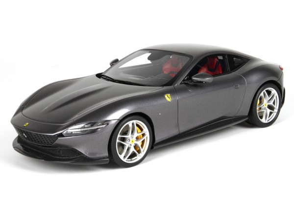 BBR Ferrari Roma Grigio Titanio Limited Edition 160 1/18