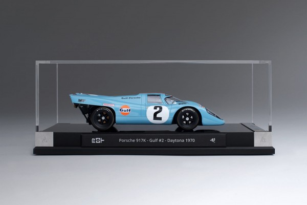 Amalgam Porsche 917K Gulf #2 Winner Daytona 1970 1:18