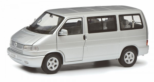 Schuco Classic VW T4b Caravelle, silber 1:18