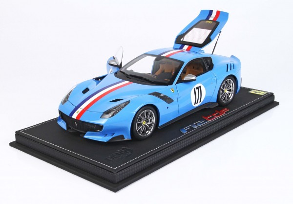 BBR Ferrari F12 TDF Tailor Made One Off Lederbasis Limited Edition 60 1/18