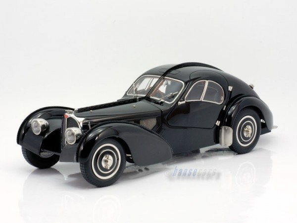 CMC Bugatti Typ 57 SC Atlantic Bugatti Typ 57 SC Atlantic, 1938 Limited Edition 5.000 schwarz