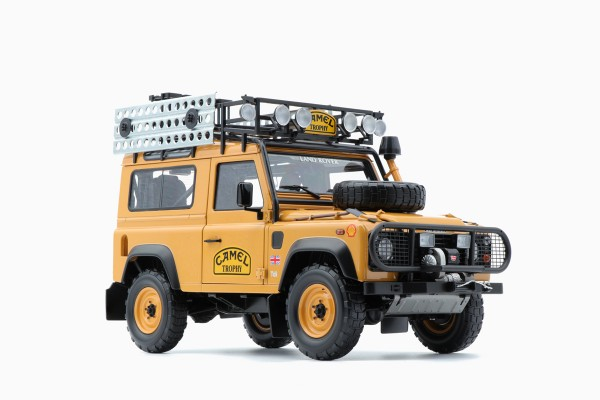 Almost Real LAND ROVER DEFENDER 90 CAMEL TROPHY EDITION 1:18