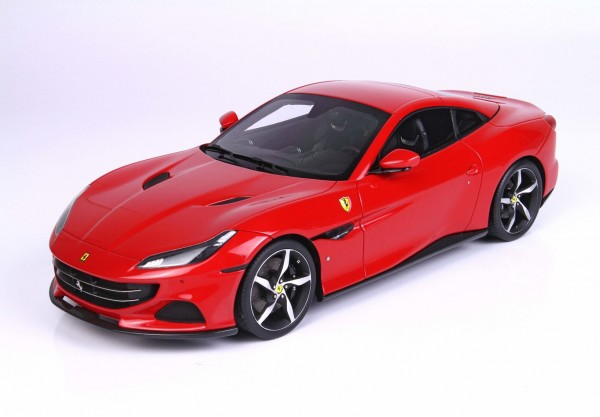 BBR Ferrari Portofino M Spider geschlossen Rosso Corsa Limited Edition 1/18