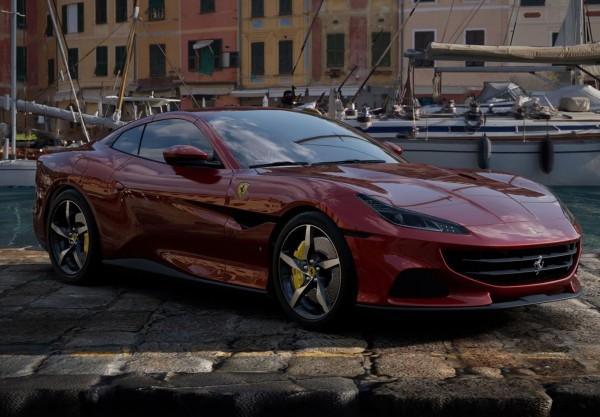 BBR Ferrari Portofino M Spider geschlossen Rosso Fiorano Limited Edition 1/18
