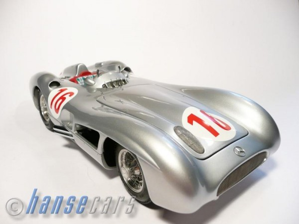 CMC Mercedes Benz W 196 R car #16 Sterling Moss Limited Edition 4.000