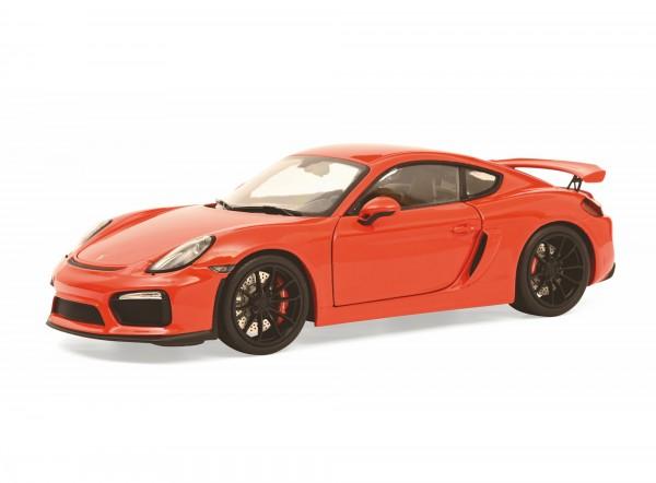 Schuco Porsche Cayman GT4 rot 1:18 Limited Edition 500