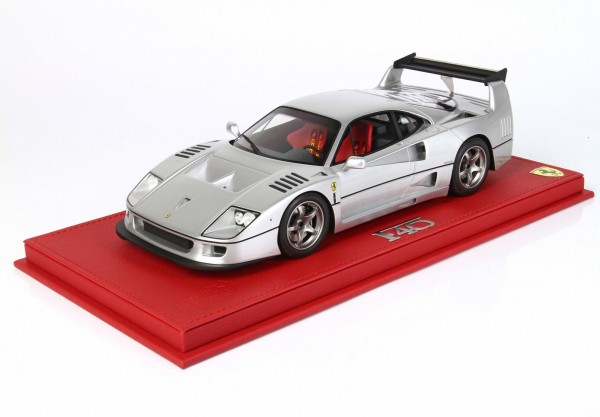 BBR Ferrari F40 By Michelotto Argento Nurburgring Limited Edition 26 1/18