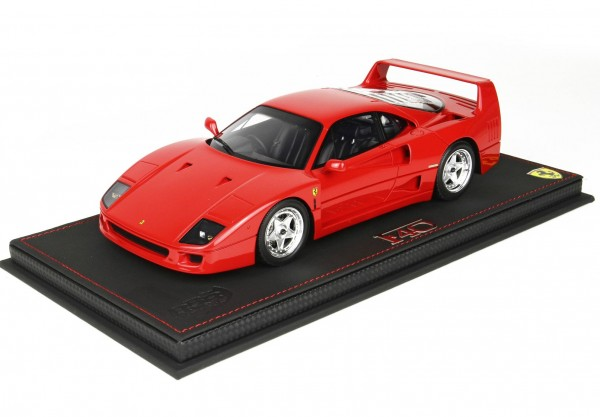 BBR Ferrari F40 By Pininfarina Sultan Brunei rosso Limited Edition 24 1/18