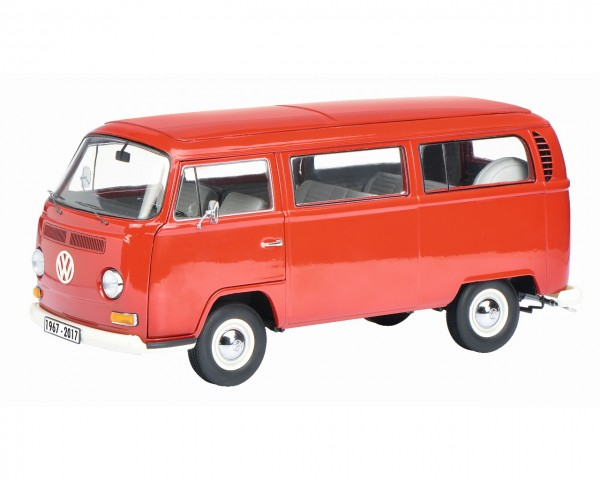 Schuco VW T2a Bus rot 1:18 Edition 50 Jahre VW T2 1967-2017 Limited Edition 500