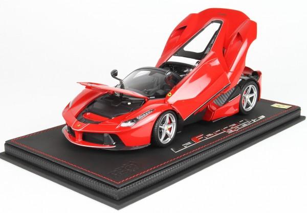 BBR Ferrari LaFerrari Aperta Rosso Corsa 322 1/18 Special Base