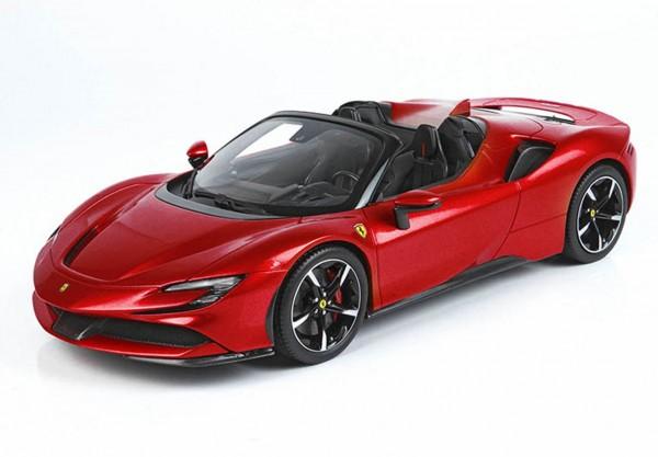 BBR Ferrari SF90 Spider Rosso Corsa 322 Limited Edition 250 1/18