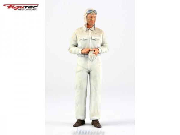 Figutec Figur 1:18 Rennfahrer verschmutzt nach dem Rennen, TEC180010X