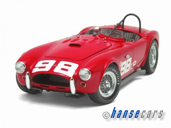 Exoto Shelby AC Cobra 260 1962 First Racing Cobra, 1962 Riverside Bill Krause