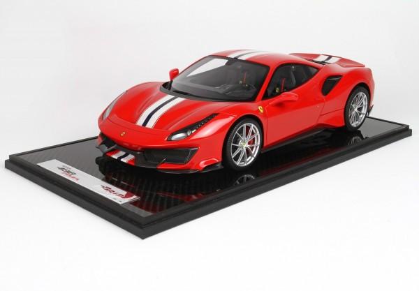 BBR Ferrari 488 Pista Rosso Corsa Limited Edition 88 1 /12