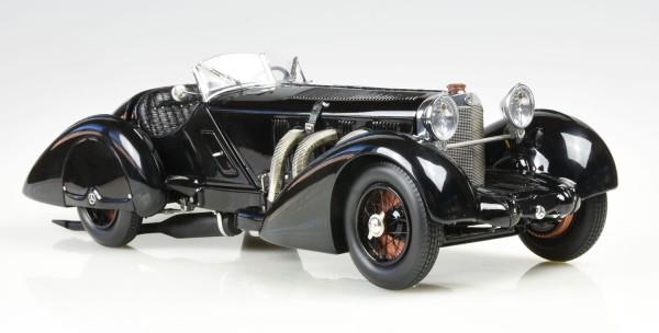 """CMC MERCEDES-BENZ SSK schwarz """"SCHWARZER PRINZ"""" 1933"""