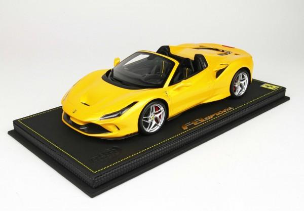 BBR Ferrari F8 Spider Giallo Tristrato Limited Edition 99 1/18