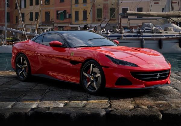 BBR Ferrari Portofino M Spider offen Rosso Corsa Limited Edition 1/18