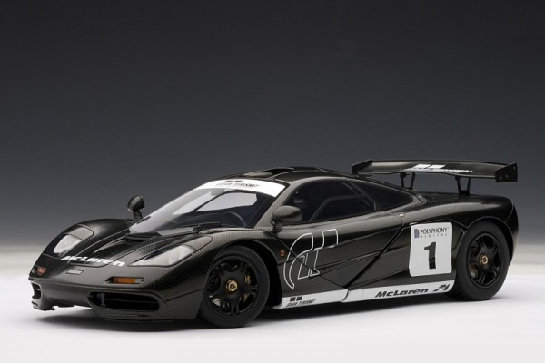 Auto Art MCLAREN F1 STEALTH MODEL GT5 carbon
