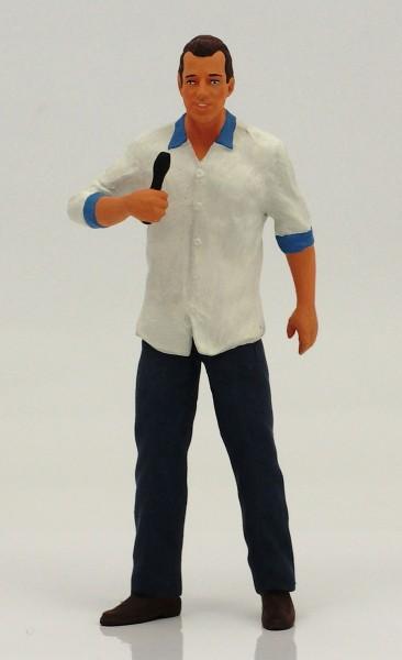 figurenmanufaktur Figur 1:18 Reporter Kai