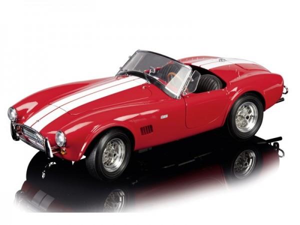 Schuco AC Cobra 289 rot mit weissem Streifen Limited Edition 500 1:12