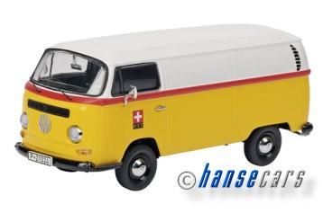 Schuco VW T2a Kastenwagen PTT Limited Edition 1000