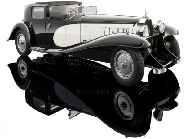 Bauer Bugatti Royale Coupe de Ville schwarz-creme