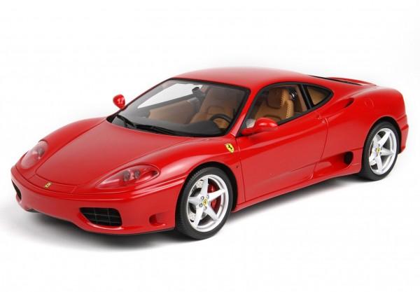 BBR Ferrari 360 Modena 1999 Rosso Corsa 322 Limited Edition 360 1/18