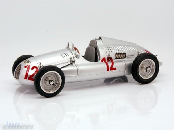 CMC Auto Union Typ D GP Frankreich 1939, #12 H.P. Müller Limited Edition 1500