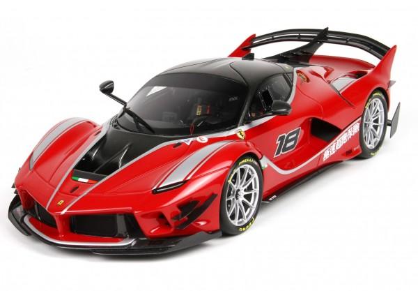 BBR Ferrari FXXK-EVO DIE CAST ROSSO CORSA 322 #18 Limited Edition 36 1/18