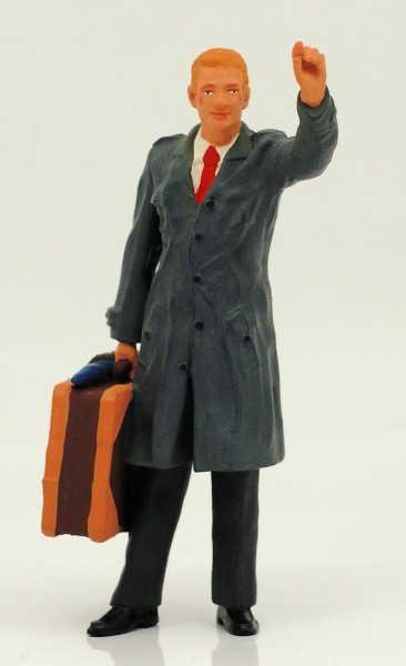 figurenmanufaktur Figur 1:18 Taxi Kunde