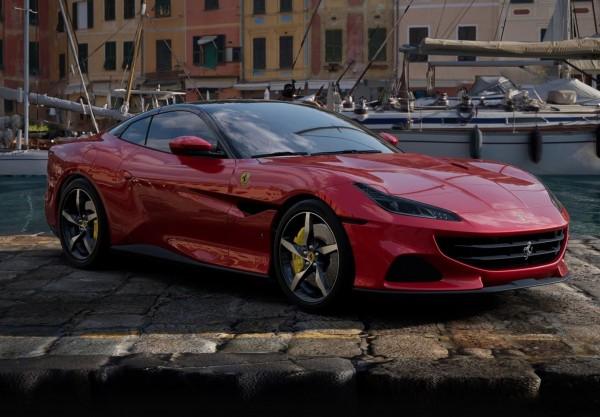 BBR Ferrari Portofino M Spider offen Rosso Portofino Limited Edition 1/18