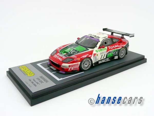 Gasoline BBR Ferrari 575 GTC 24h SPA 2004 Car No. #11 TEAM GPC