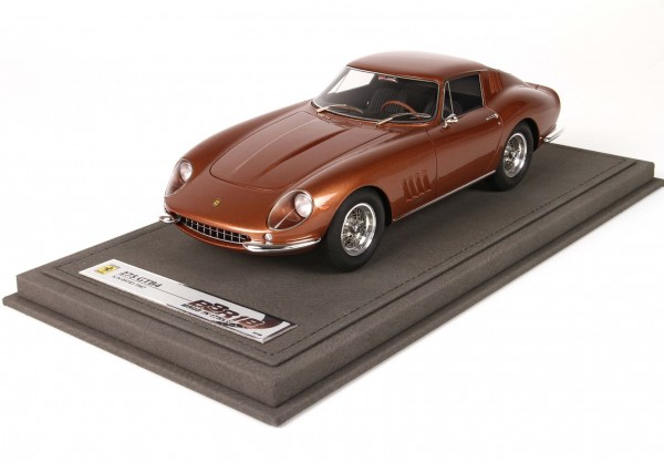BBR Ferrari 275 GTB4 Nut Metal Color Limited Edition 48 1/18
