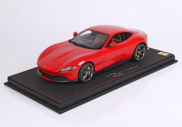 BBR Ferrari Roma Rosso Corsa 322 Limited Edition 40 1/18
