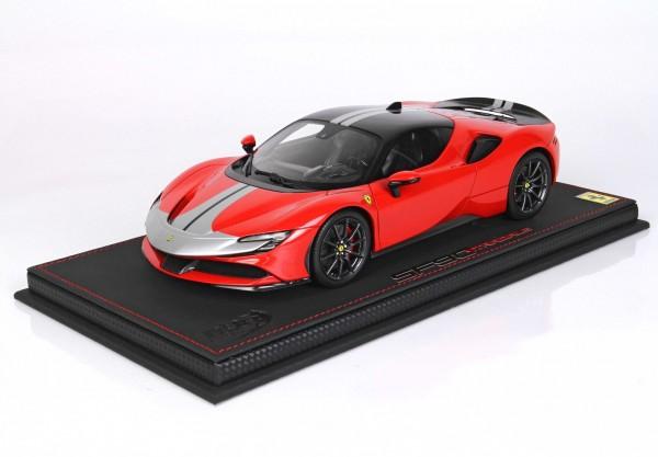 BBR Ferrari SF90 Stradale Pack Fiorano Rosso Corsa 322 Limited Edition 20 1/18