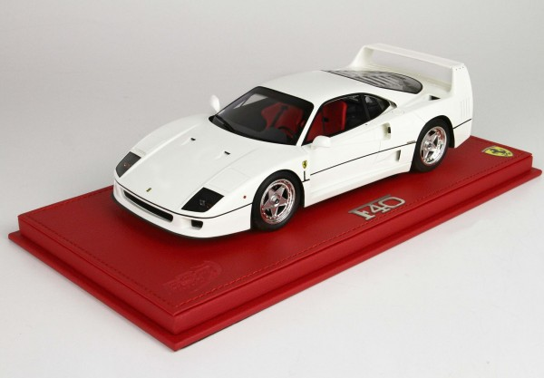 BBR Ferrari F40 1987 weiss 1/18 Limited Edition 3 Genfer Autosalon 2020