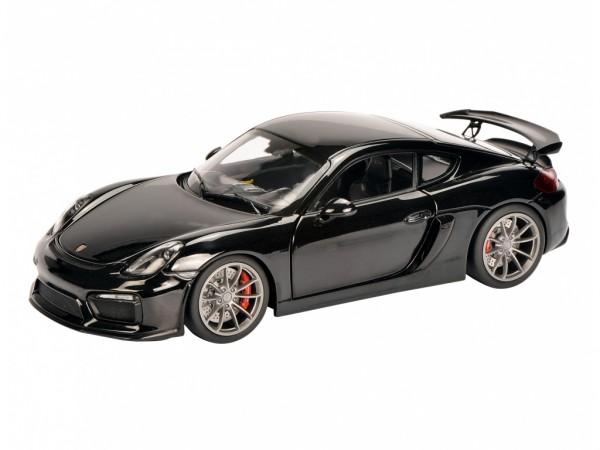 Schuco Porsche Cayman GT4 schwarz metallic 1:18