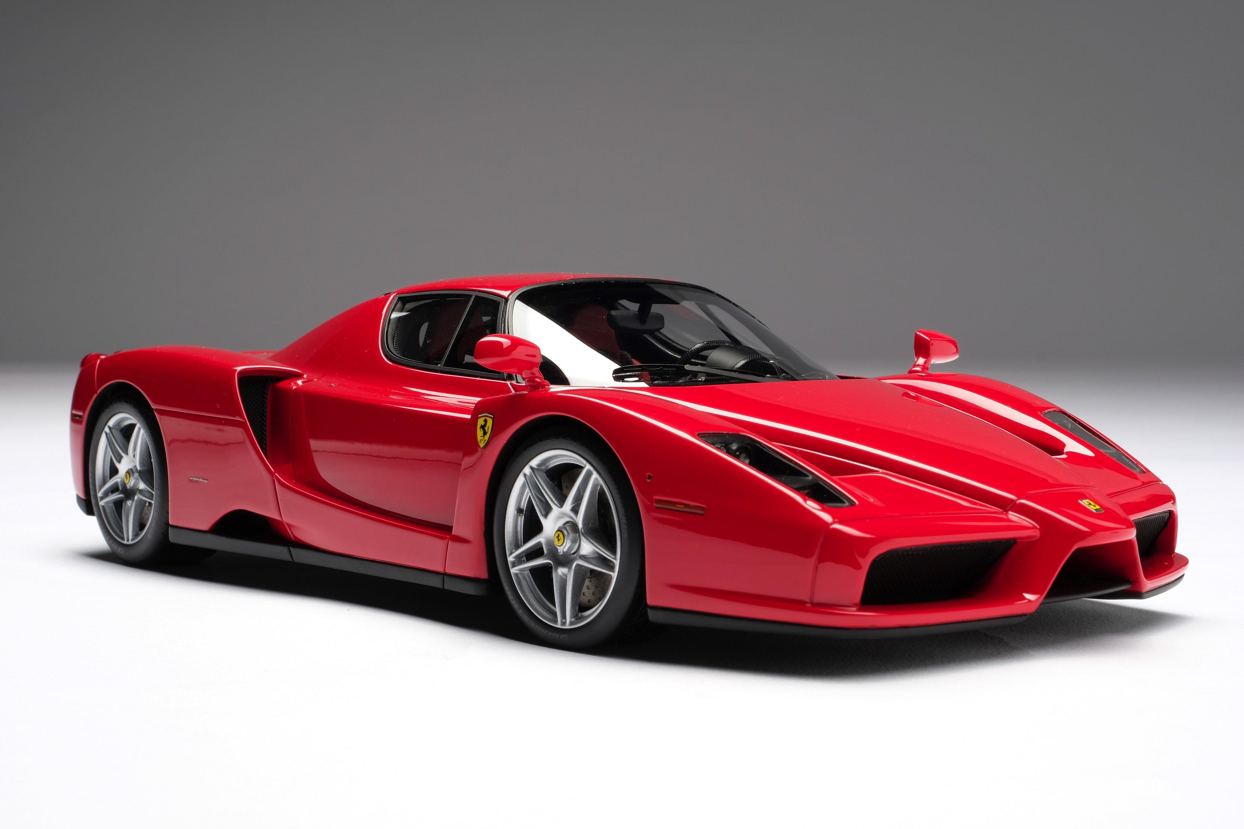 Amalgam Ferrari Enzo Rot 2002 1 18 Hansecars Modellautos Hansecars Exklusive Sammlermodelle