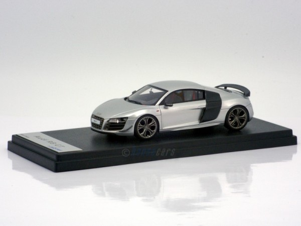 Looksmart Audi R8 GT Silver - Limited Edition 50 pcs 1:43