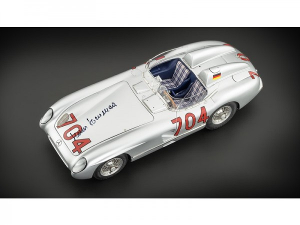 CMC Mercedes- Benz 300 SLR –Mille Miglia- 1955 # 704 Hans Herrmann Signatur Edition Limited to 400 S