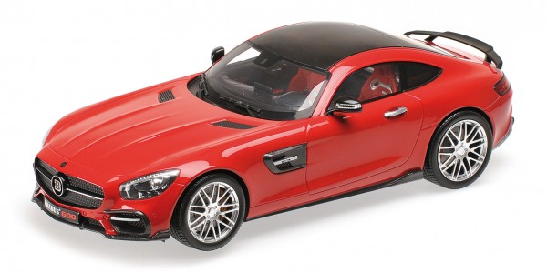 Minichamps BRABUS 600 (Basis Mercedes AMG GT S) - red 1:18