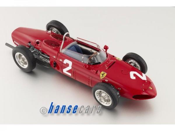 CMC Ferrari Dino 156 F1 Sharknose #2 Phil Hill Monza 1961