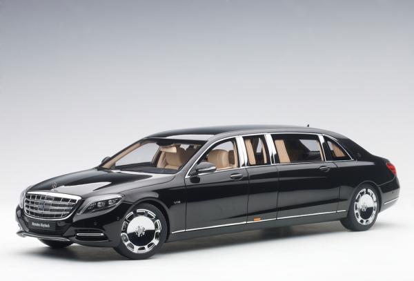Auto Art Mercedes Maybach S 600 Pullman (schwarz) 2016 1:18