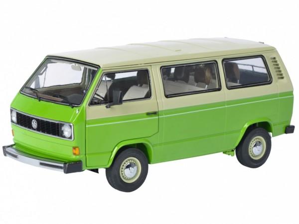Schuco Volkswagen VW T3 Bus Baujahr 1979-90 grün / beige 1:18