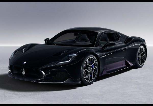 BBR Maserati MC20 2020 Nero Enigma Limited Edition 60 1/18