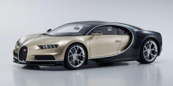 KYOSHO Bugatti Chiron ( gold/black ) 1:12